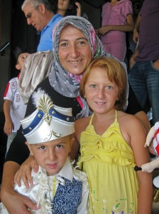 Circumcision day, aboard ferry near Istanbul, Turkey (2010)