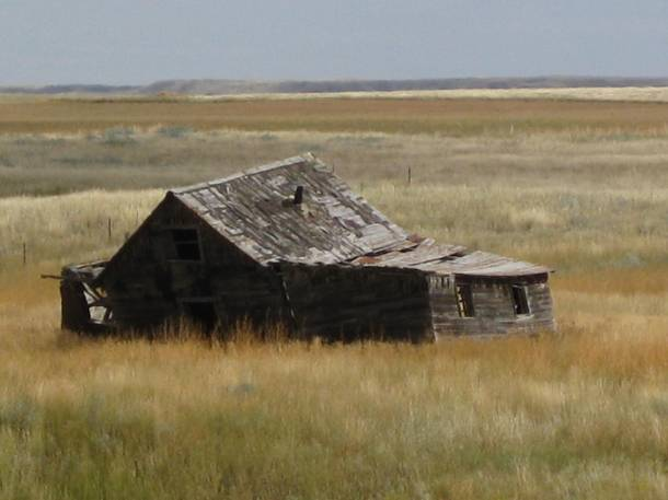 Homestead neighborhood (Near Hinsdale, Montana, Sept 2011)
