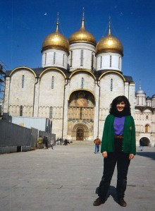 One of my favorite places, the Kremlin. (Moscow, Russia 1994)