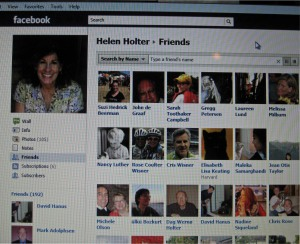 My Facebook friends: many real, many virtual