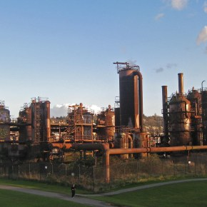 Gas Works Park, recycled