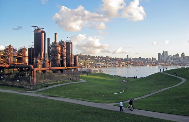 Gas Works has morphed from a contaminated environmental scourge to the site of Seattle's Fourth of July festivities.