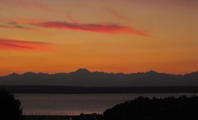 Sunset, Olympic Mountains