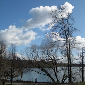 Green Lake: winter, almost-spring