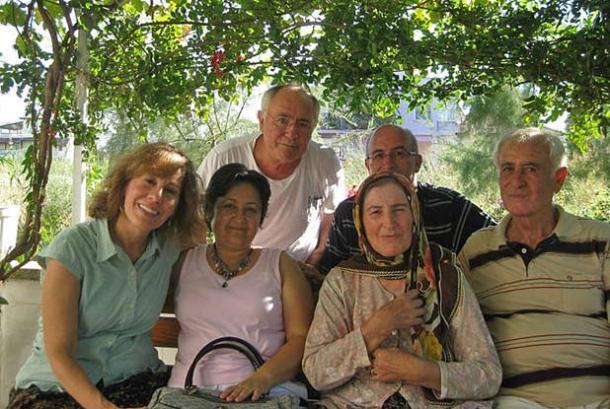 Gathering of my exchange family on the Sea of Marmara near Bursa, Turkey in 2010