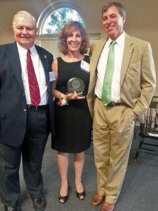 Dr. William Woolley, Helen Holter, Dr. Zach Messitte
