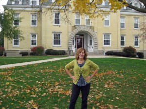 Helen at Ripon College
