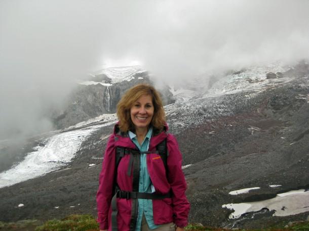 Even when Mount Rainier hides, it's still a good hike. (Helen Holter, September 7, 2013)