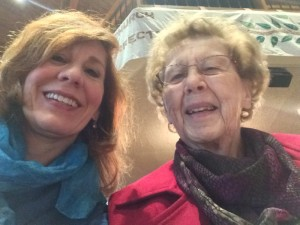 Is it sacrilegious to take a selfie in church? Caught in an Advent song moment; and anyway we knew the words by heart. My mom and I are in our family's Lutheran church of more than 40 years.