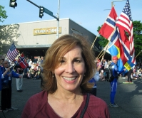 Helen w flags