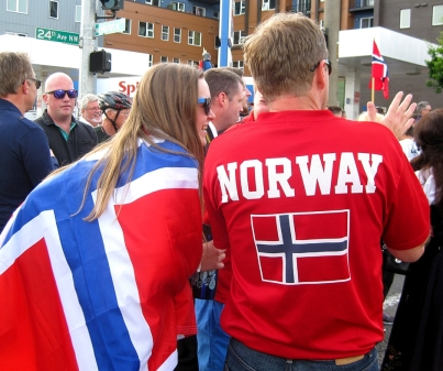 Norwegian young couple