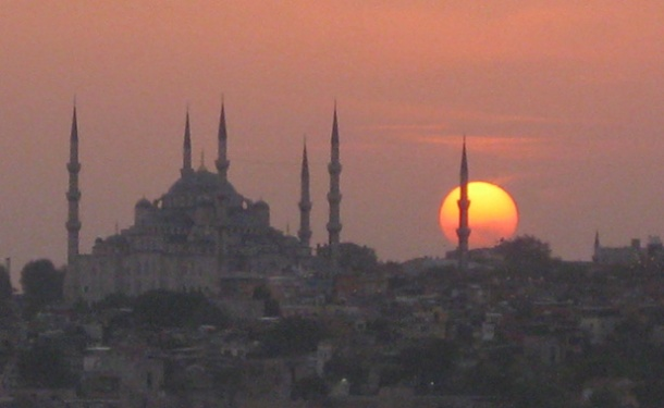 Day is done – Istanbul, Turkey <br>Photo credit: Helen Holter</br>