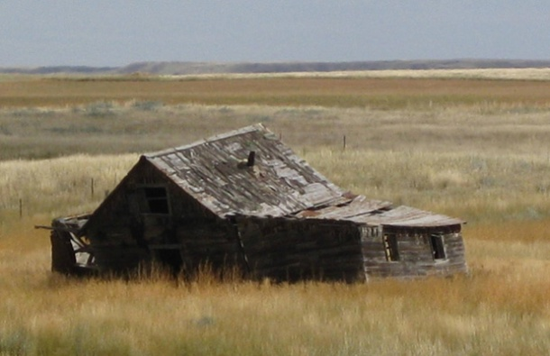 The 'hood - my family's homestead neighborhood, near Hinsdale, Montana <br>Photo credit: Helen Holter</br>