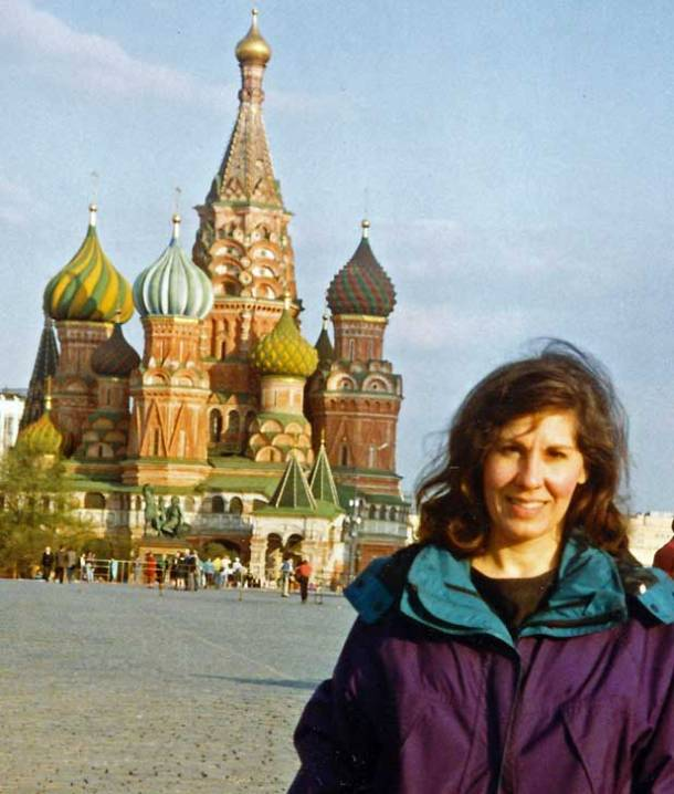 Helen Holter, St. Basil's Cathedral, Moscow, Red Square, Russia