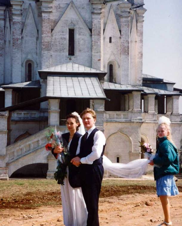 Russia, Moscow, Kolomenskoye, wedding