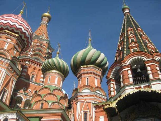 UNESCO-listed St. Basil's Cathedral is an iconic symbol of Red Square, Moscow, and Russia Photo credit: Helen Holter