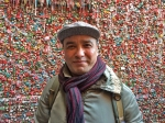 A'zam Obidov at the GERMY Gum Wall